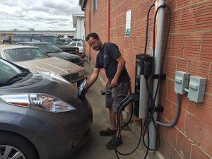 ev charging station Benicia Motor Works